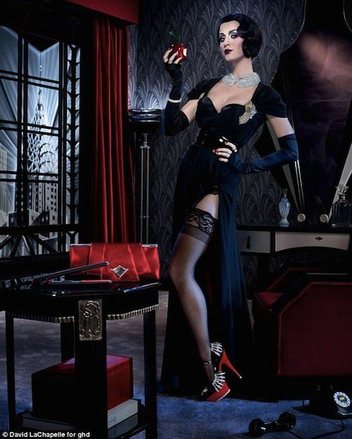 katy perry snow white ghd David LaChapelle photo shoot