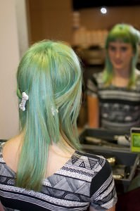 Illumina, Liverpool Fashion Week & Hannas Green Hair!