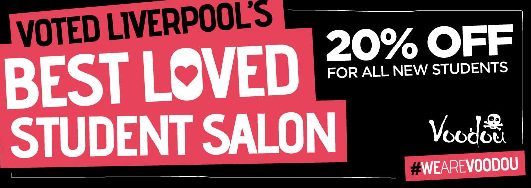 c8bec001958b Student Discount at Voodou Liverpool Salons and Barbers