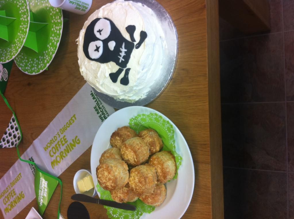 Voodou Win the Macmillan Bake Off