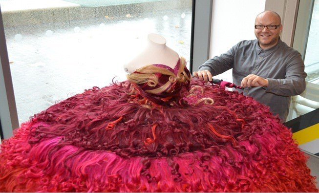 Voodous Hair Dress goes on Exhibition at the Museum of Liverpool