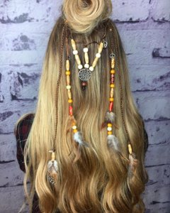 festival hair at Voodou Liverpool