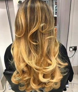 curly blow at Voodou Liverpool