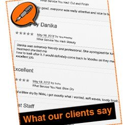 Voodou Client Reviews