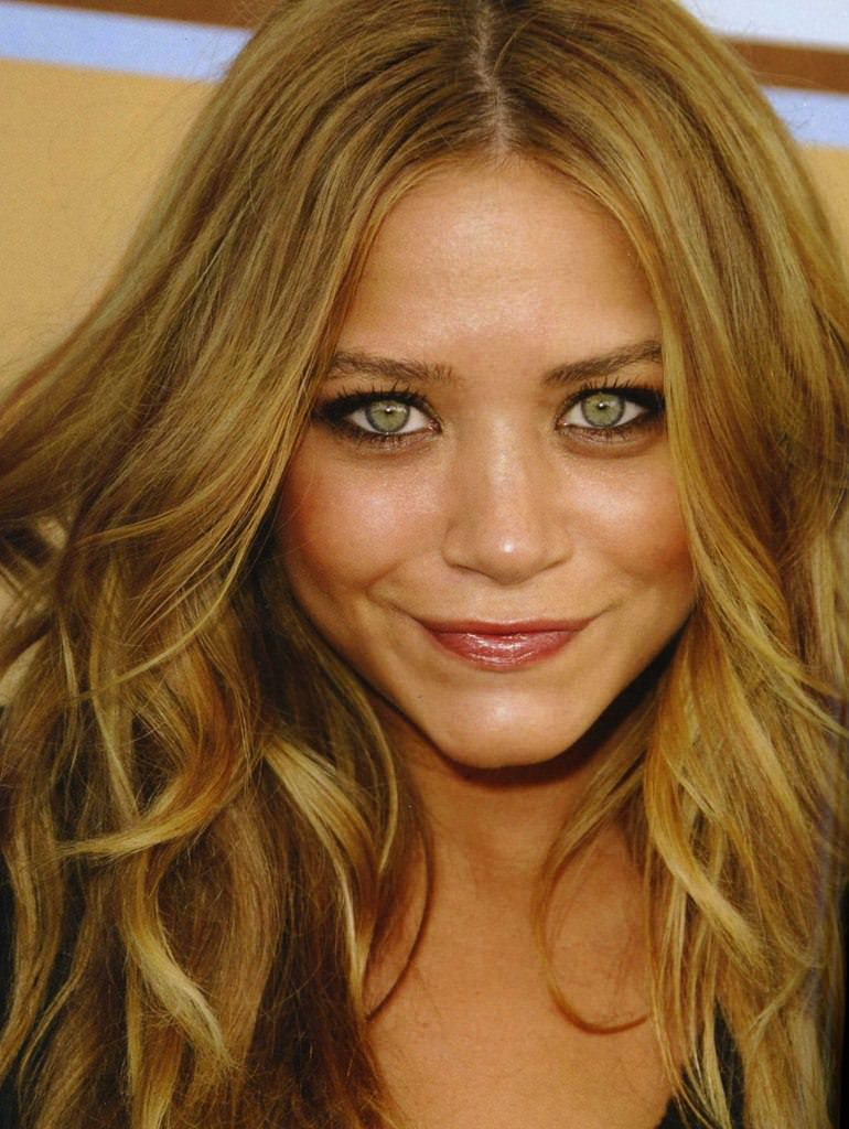 Honey Blonde hair colour suits most skin types and combined with