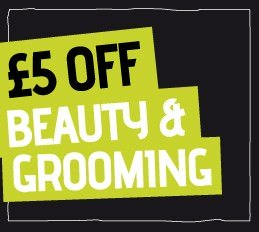 £5 OFF Beauty & Groom