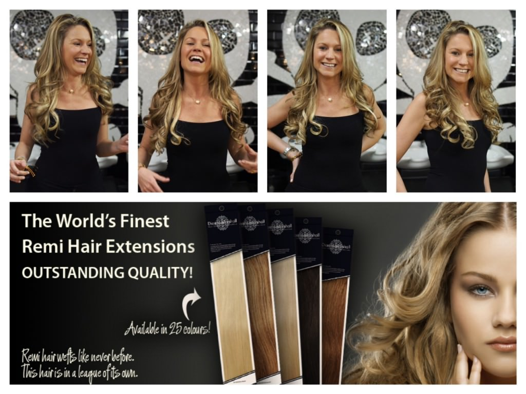 Dianne Marshall hair extensions before after