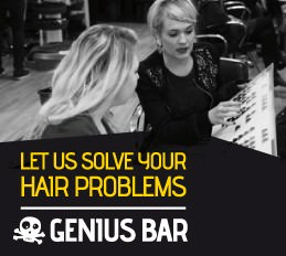 Solving your hair problems at The Genius Bar