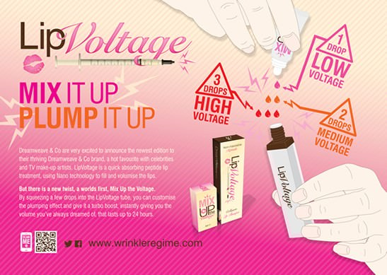 Lip Voltage Voodou Liverpool lip plumper