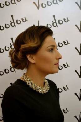 Voodou Hairdressers Liverpool Awards Red Carpet Hair Style