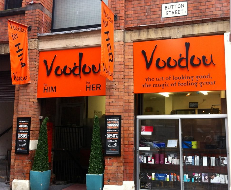 Voodou button street salon for him and her for 2nd street salon