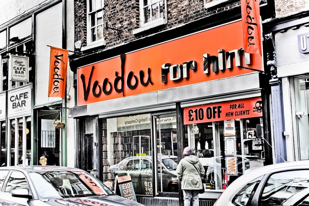 Voodou Bold Street Barbers for Him