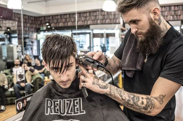 Liverpool barbers Voodou Liverpool city centre