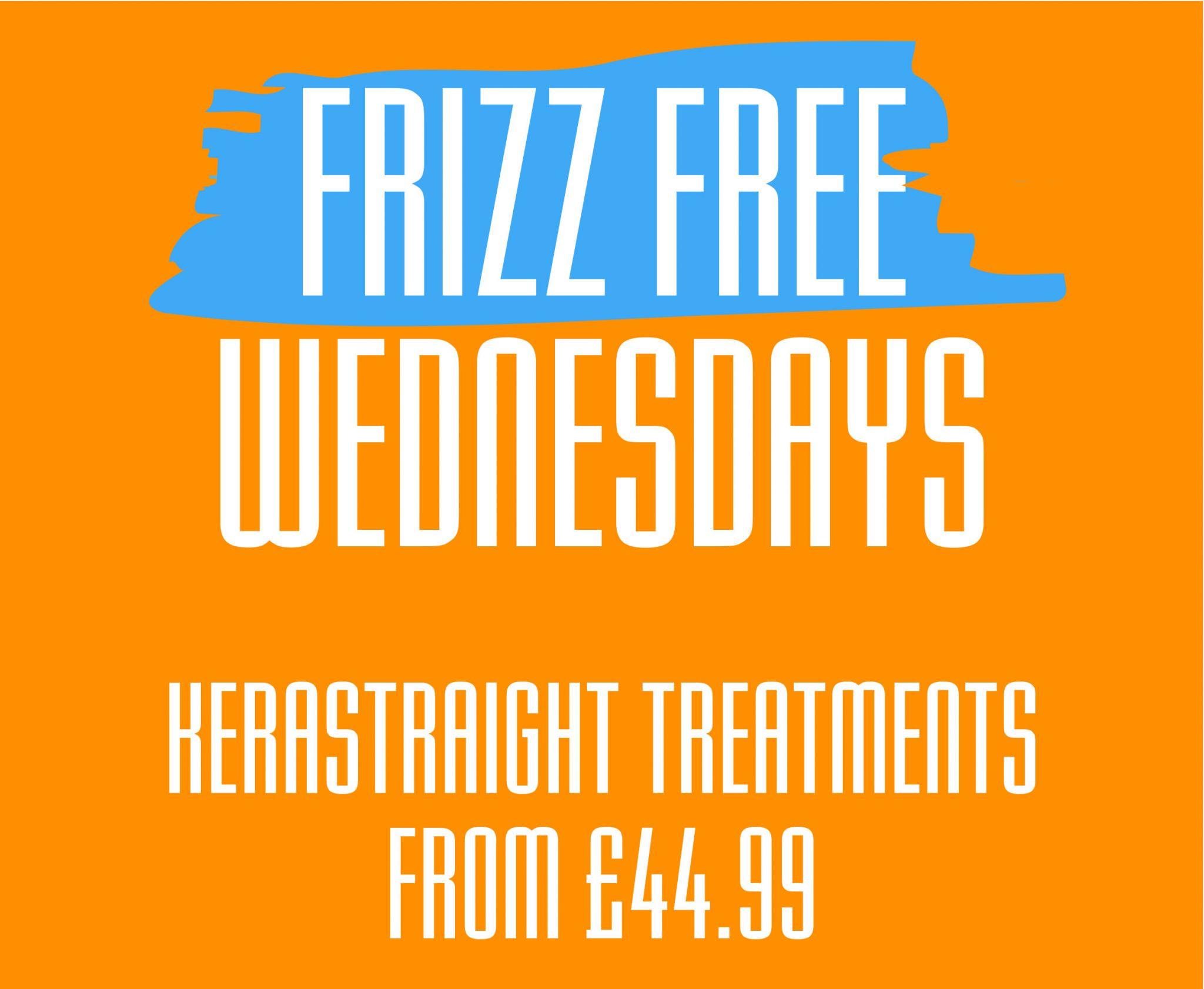 Frizz Free Wednesdays