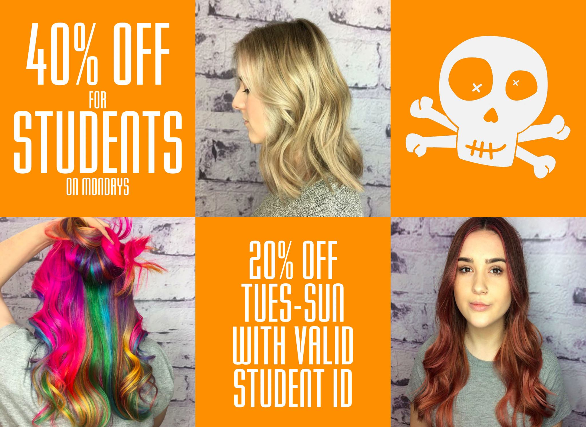student discount at hair salons and barbers in Liverpool