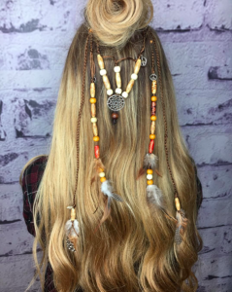festival hair trinkets