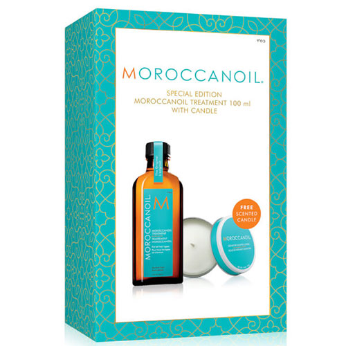 Moroccanoil-Treatment-gift-set-with-Candle---£32