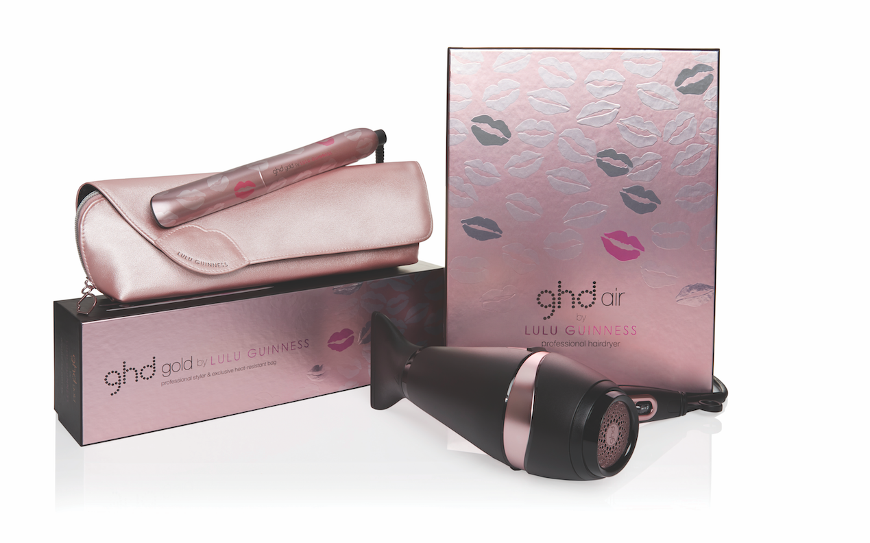 Help Breast Cancer Awareness with ghd GOLD® by Lulu Guinness