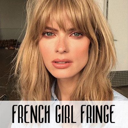 Did Someone Say 'French-Girl Fringe'? Oh Là Là!