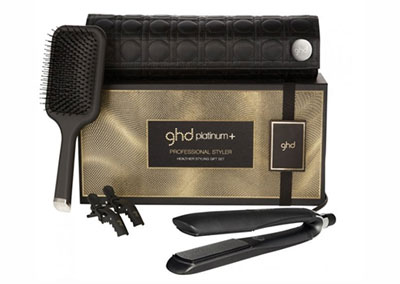 GHD platinum+ Hair Straighteners Gift Set