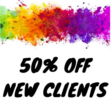 50% Off New Clients