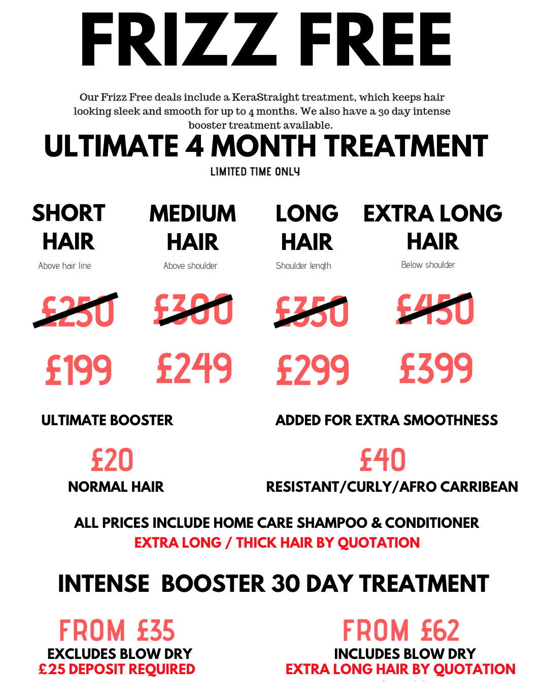 Kerastraight Treatment at Voodou Salons in Liverpool