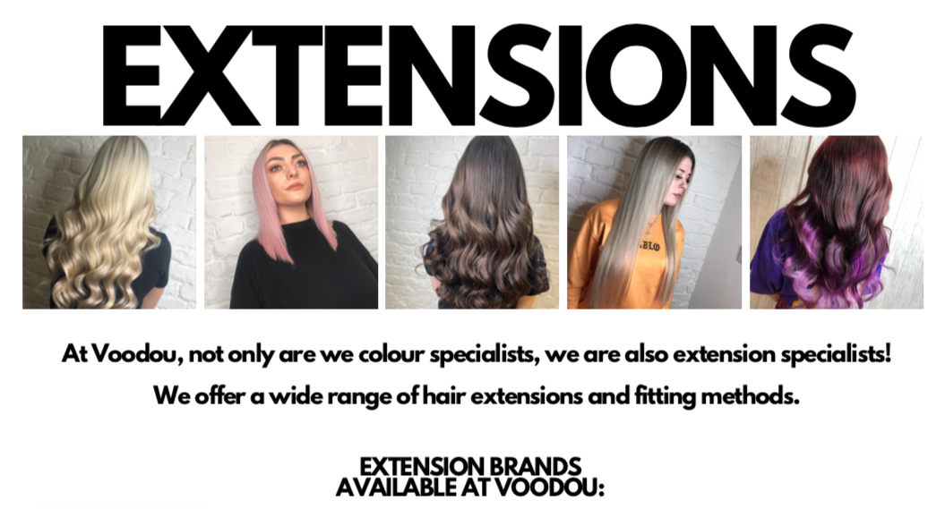 Hair Extensions at Voodou Liverpool