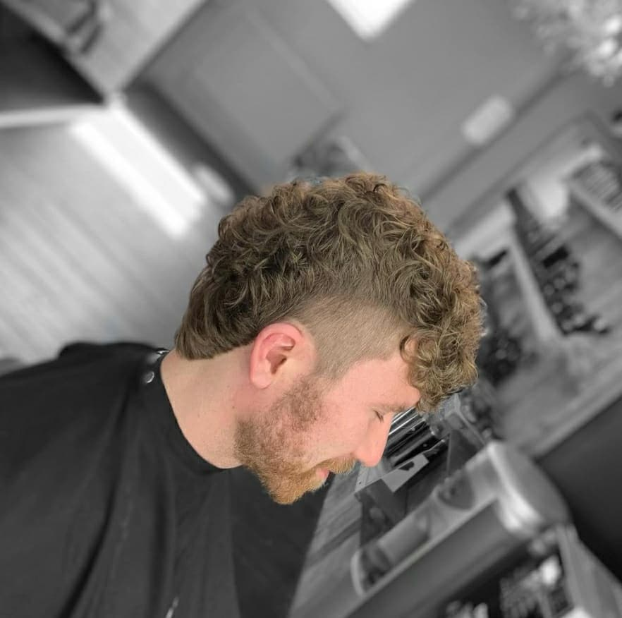Curly Hair Transformation Liverpool Barbers