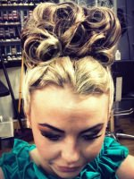 wedding bridal graduation hairstyles