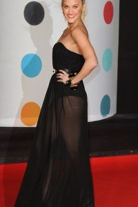 ashley-roberts-braided-top-knot-hairstyle-brit-awards-2013
