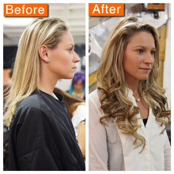 Hair extension before and after pictures pmusecretfo Choice Image