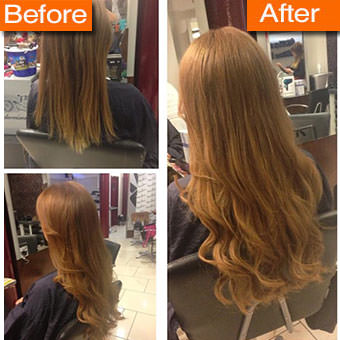 Hair Extension Before And After Pictures
