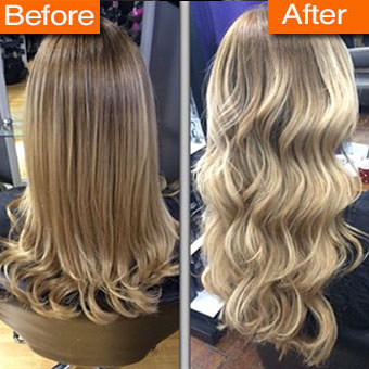 See More Great Hair Extension Images Using The Pinterest Link Below