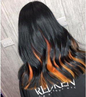 Black & Orange 5