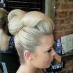 blonde-hair-up-rolls