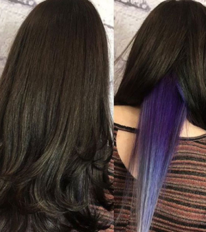 HIDDEN COLOUR HAIR TREND at VOODOU LIVERPOOL | THE HAIR COLOUR SPECIALISTS IN LIVERPOOL | BOLD STREET, BUTTON STREET & TUEBROOK