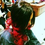 Dip Dye hair colour