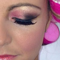 danika-weston-makeup-pink