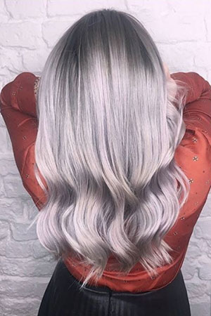 Silver Grey Hair Trends At Voodou Hair Salons In Liverpool