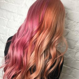 Top AW/19 Hair Colour Trend: Coral Hair Shades at Voodou Liverpool