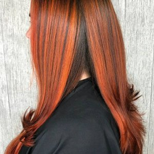 Top AW/19 Hair Colour Trend: Red Hair Colours at Voodou Liverpool