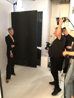 Voodou Team Head To London For Shoot With Rankin at Voodou Salons, Liverpool