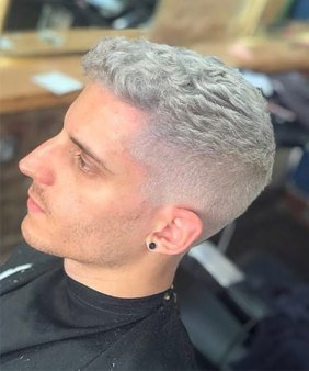 Gents Permanent Hair Colour AT VOODOU HAIR SALONS IN LIVERPOOL