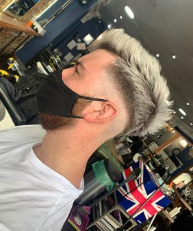 Highlights for Him Gent´s Hair Colour AT VOODOU HAIR SALONS IN LIVERPOOL